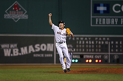 Koji Uehara and the Boston Red Sox win, 2013