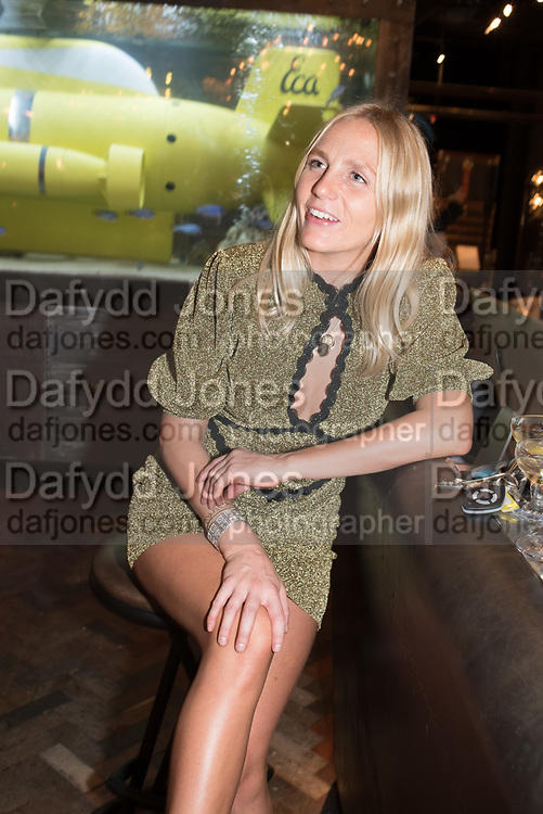 MADDIE CHESTERTON, ( BAAR  & BASS ) Timothy Oulton Flagship Gallery Grand Opening, Timothy Oulton Bluebird, 350 King's Rd. Chelsea, London.  19 September 2018