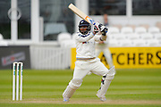 Yorkshire's Adil U Rashid during the Specsavers County Champ Div 1 match between Somerset County Cricket Club and Yorkshire County Cricket Club at the County Ground, Taunton, United Kingdom on 17 May 2016. Photo by Graham Hunt.