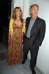 TREVOR EVE and SHARON MAUGHAN at a party to celebrate the opening of a new art gallery, 20 Hoxton Square, Hoxton Square, London on 27th April 2007.<br />