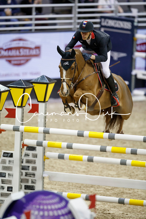 Staut Kevin, FRA, Reveur de Hurtebise HDC<br /> Round 2<br /> Longines FEI World Cup Jumping, Omaha 2017 <br /> © Hippo Foto - Dirk Caremans<br /> 01/04/2017