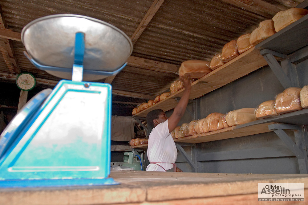 Bakery at Ashaiman, outside Tema, Ghana