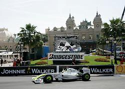 MONTE-CARLO, MONACO - Thursday, May 21, 2009: Jenson Button (GBR, Brawn GP) during practice for the Monaco Formula One Grand Prix at the Monte-Carlo Circuit. (Pic by Juergen Tap/Hoch Zwei/Propaganda)