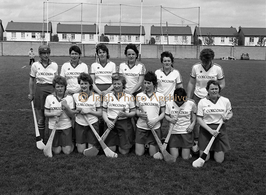 National League Camogie Final..1986..18.05.1986..05.18.1986..18th May 1986..The National League Camogie final was contested between Cork and Dublin.The match took place at Lorcan O'Toole Park,Lower Kimmage Road, Kimmage,Dublin..The match was won by Cork..We do not have the caption card so if you were there or know any of the girls involved,why not let us know at irishphotoarchive@gmail.com and we will be delighted to add the information to the images.