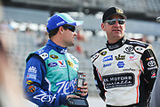 May 10, 2013: NASCAR Southern 500. Ricky Stenhouse Jr., Ford, Clint Bowyer, Toyota , Jamey Price / Getty Images 2013 (NOT AVAILABLE FOR EDITORIAL OR COMMERCIAL USE