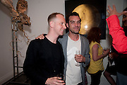 SIMON OLDFIELD; JAKE MASKREY, New Symphoney.-  Simon Oldfield Gallery launch. First Floor, 9 Henrietta Street, WC2E.. -DO NOT ARCHIVE-© Copyright Photograph by Dafydd Jones. 248 Clapham Rd. London SW9 0PZ. Tel 0207 820 0771. www.dafjones.com.