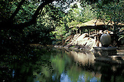 Diyabubula. The county home of artist, landscape designer and sculptor Laki Senanayake...2005