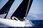 Cannonball sailing in the  Corfu Challenge, day one.