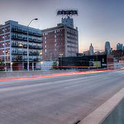 Downtown Kansas City Missouri near 20th and McGee.