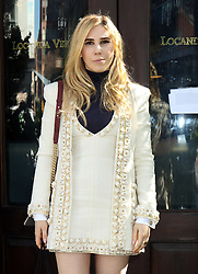 October 17, 2017 - New York, New York, United States - Zosia Mamet attends the 'Through Her Lens: The Tribeca Chanel Women's Filmmaker Program Luncheon' at Locanda Verde on October 17, 2017 in New York City  (Credit Image: © Philip Vaughan/Ace Pictures via ZUMA Press)