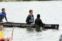 20 April 2012:   Concrete Canoe competition at Eureka Lake
