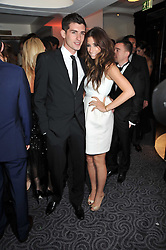 STACEY SOLOMON and AARON BARHAM at Quintessentially's 10th birthday party held at The Savoy Hotel, London on 13th December 2010.