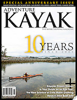 10 year anniversary cover for Adventure Kayak magazine.