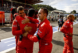 September 1, 2019, Spa-Francorchamps, Belgium: Motorsports: FIA Formula One World Championship 2019, Grand Prix of Belgium, ..Mechanic of Scuderia Ferrari Mission Winnow  (Credit Image: © Hoch Zwei via ZUMA Wire)
