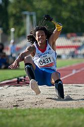 ASSOUMANI Arnaud, FRA, Long Jump, T46, 2013 IPC Athletics World Championships, Lyon, France