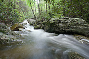 Beautiful stream on property at Blue Ridge Mountain Club which is located just minutes from the Blue Ridge Parkway and downtown Blowing Rock, North Carolina.