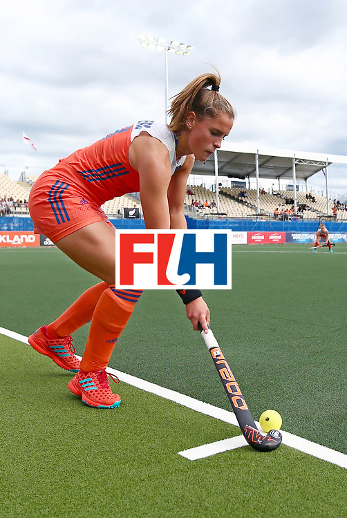 New Zealand, Auckland - 20/11/17  <br /> Sentinel Homes Women&rsquo;s Hockey World League Final<br /> Harbour Hockey Stadium<br /> Copyrigth: Worldsportpics, Rodrigo Jaramillo<br /> Match ID: 10299 - NED vs KOR<br /> Photo: (18) SANDERS Pien