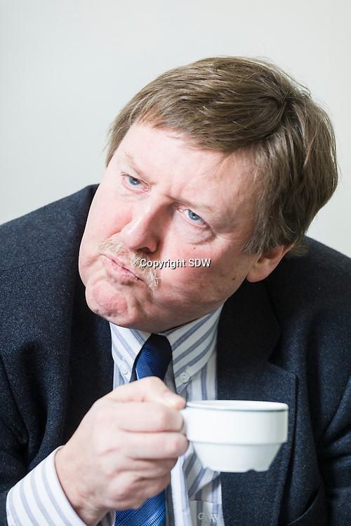 Siegfried Th. H. Bracke , voormalig Vlaams journalist en televisiepresentator, nu actief bij de N-VA.