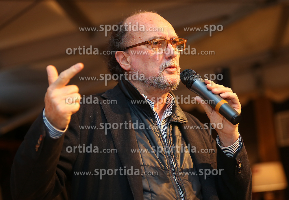 07.02.2013, Tirolberg, Schladming, AUT, FIS Weltmeisterschaften Ski Alpin, AIPS Night, im Bild Gianni Merlo (AIPS Präsident) // at the AIPS Night during FIS Ski World Championships 2013 at the Tirolberg, Schladming, Austria on 2013/02/07. EXPA Pictures © 2013, PhotoCredit: EXPA/ Johann Groder
