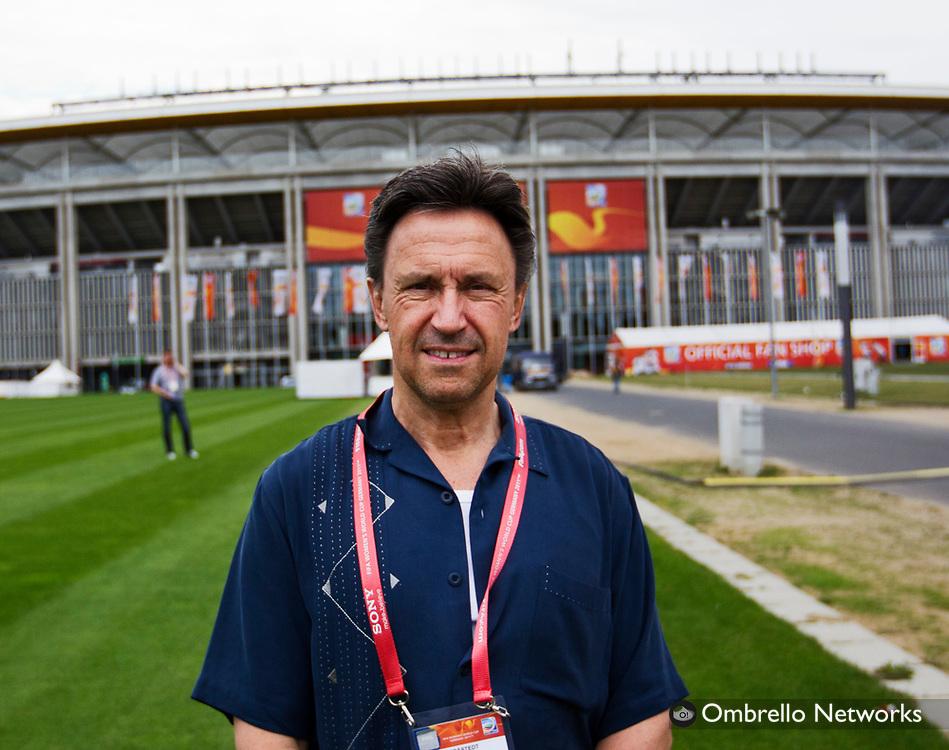 FRANKFURT 2011-07-12<br /> LANDSLAGET FOTBOLL TR&Auml;NAR INF&Ouml;R SEMI-FINAL.<br /> I bild: Mats Br&aring;stedt.