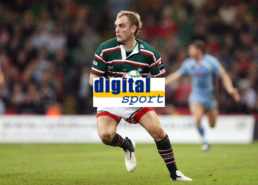 Photo: Rich Eaton.<br /> <br /> Cardiff Blues v Leicester Tigers. Heineken Cup. 29/10/2006. Andy Goode of Leicester Tigers