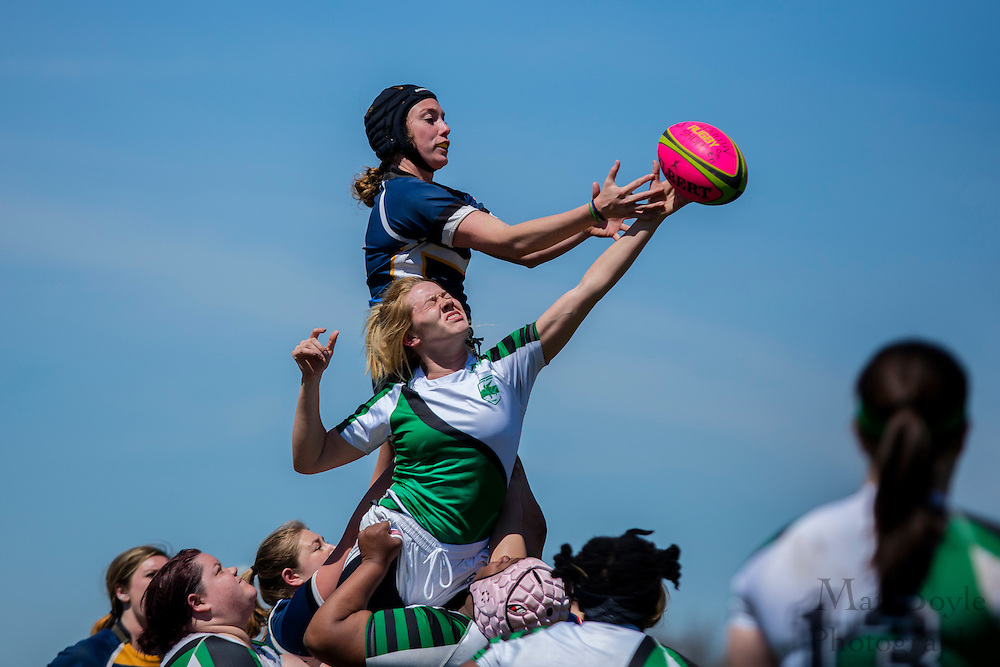South Jersey Rugby Football Club Women hosts Lehigh Valley Rugby Football Club at Garden State Rotary Complex in Cherry Hill, NJ on Saturday April 16, 2016. (photo / Mat Boyle)