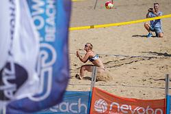 23-08-2019 NED; DELA NK Beach Volleyball Qualification, Scheveningen<br /> First day NK Beachvolleyball / Loladina Zwaanswijk