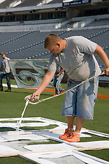 20070906 - Scott Stadium Field Painting
