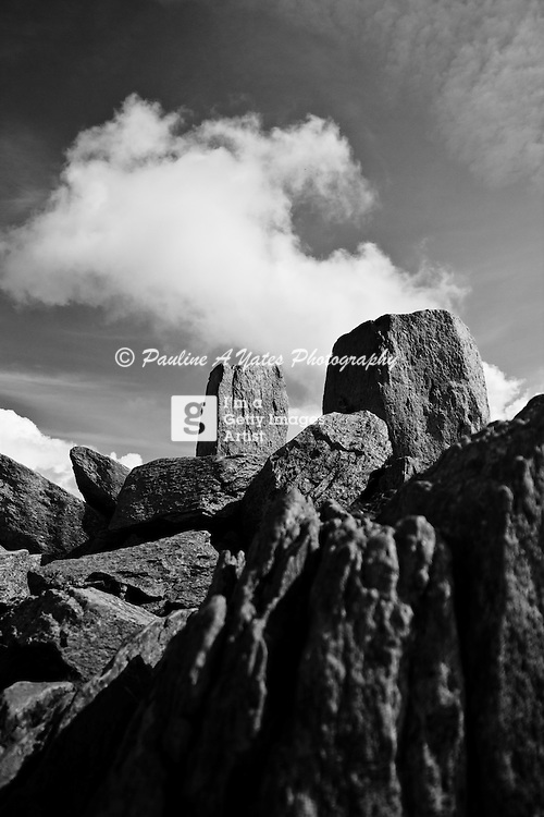 Adam and Eve, Tryfan, Snowdonia, North Wales. Taken at the summit<br />