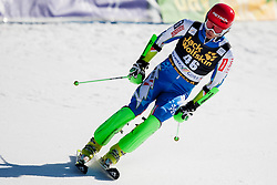 KUERNER Miha of Slovenia during the 1st Run Men's Slalom - Pokal Vitranc 2014 of FIS Alpine Ski World Cup 2013/2014, on March 9, 2014 in Vitranc, Kranjska Gora, Slovenia. Photo by Urban Urbanc / Sportida.com
