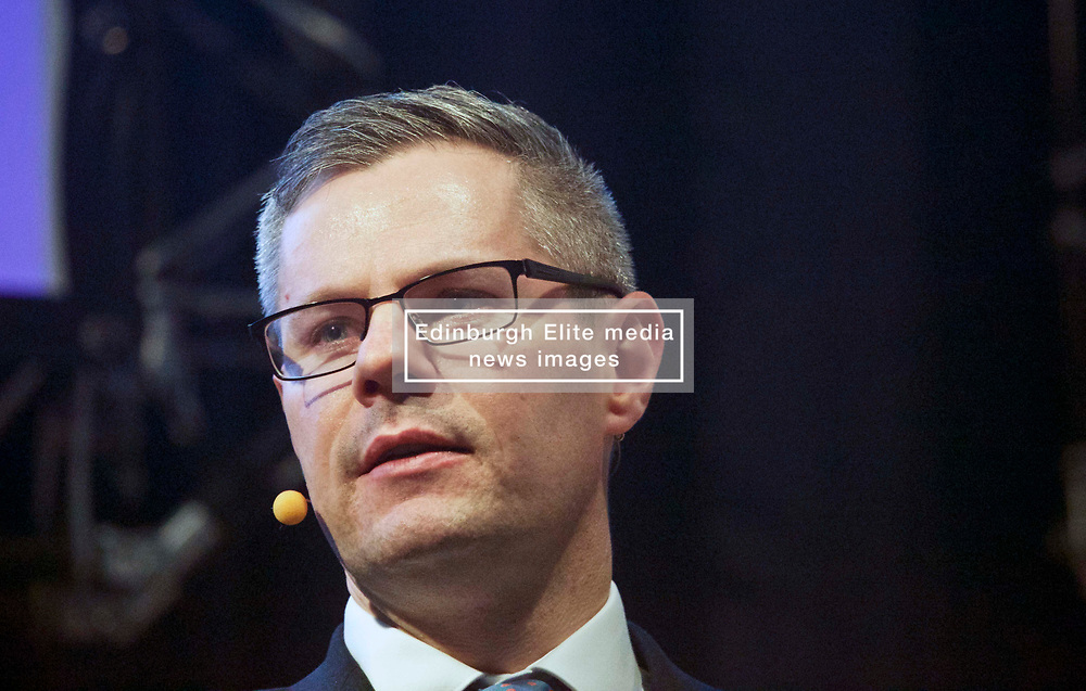Pictured: <br /> <br /> Derek Mackay, Finance Secretary, addressed the conference<br /> <br /> Terry Murden | EEm 6 March 2019