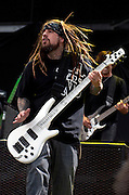Korn performing at Rock on the Range at Crew Stadium in Columbus, OH on May 21, 2011