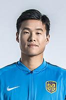 **EXCLUSIVE**Portrait of Chinese soccer player Li Ang of Jiangsu Suning F.C. for the 2018 Chinese Football Association Super League, in Nanjing city, east China's Jiangsu province, 23 February 2018.