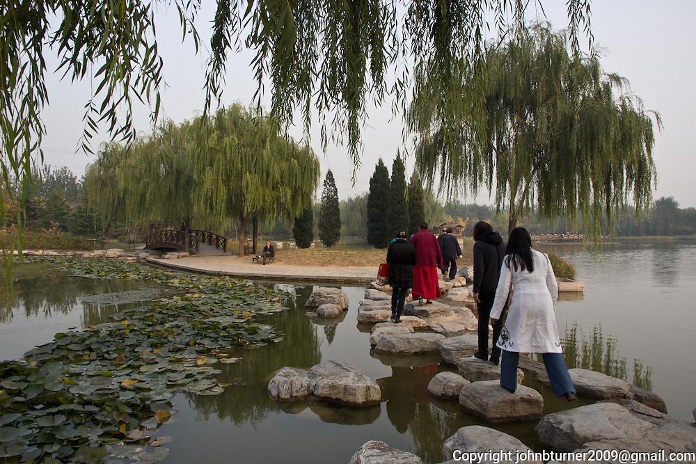 Gu Ta park, Chaoyang, Beijng, China; Pagoda of Buddhas from Ten Directions, built 1545