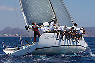 Bigamist 6 during the practice race of the AUDI Medcup in Cartagena
