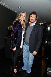 MARK & ANNE STEWART at a party to celebrate 41 years of the Farm Club in Verbier held at Club Nouveau, The Arts Club, Dover Street, London on 16th November 2011.