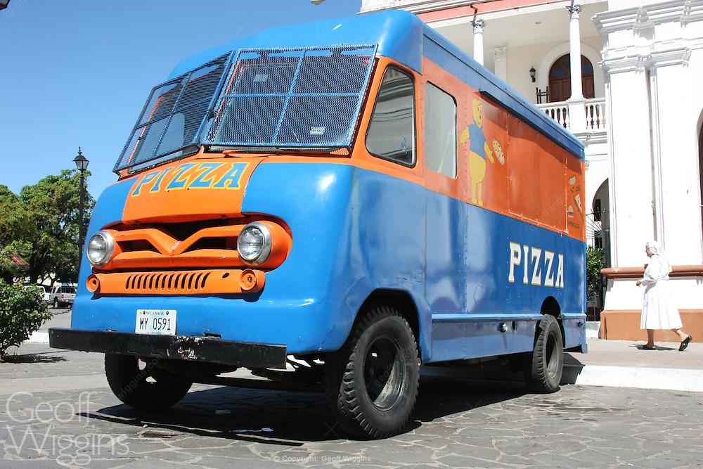 1950s vintage 1950s Ford P350 Vanette delivery van, Grenada, Nicaragua