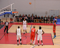 - Photo mandatory by-line: Alex James/JMP - Mobile: 07966 386802 - 28/03/2015 - SPORT - Basketball - Bristol - SGS Wise Campus - Bristol Flyers v London Lions - British Basketball League