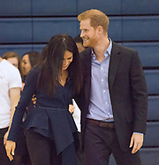 Meghan Markle & Prince Harry Cosys-Up
