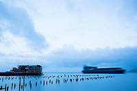 Cannery Pier Hotel, Astoria, Oregon.