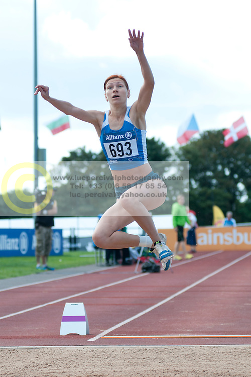 STRYZHAK Inna, 2014 IPC European Athletics Championships, Swansea, Wales, United Kingdom