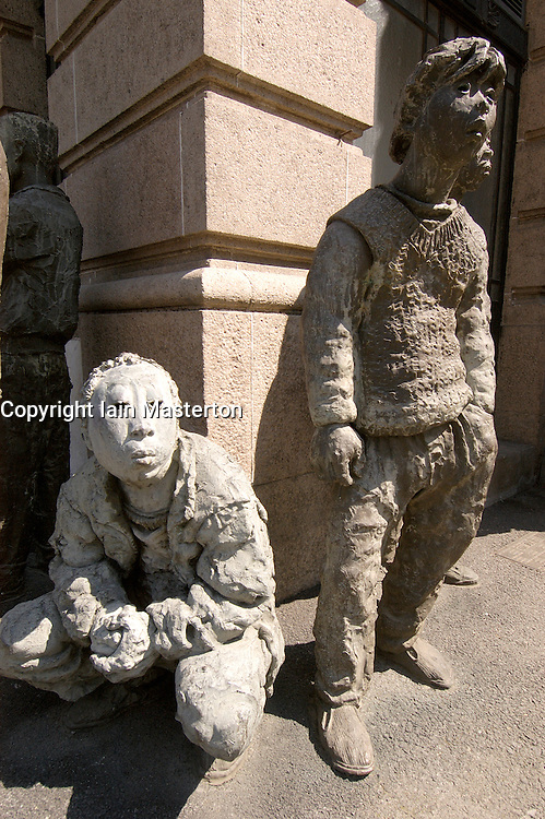 Modern art sculptures outside Shanghai Art Gallery China