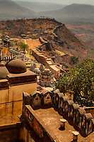 kumbhalgarh Fort near ranakpur in rajasthan state in india
