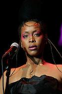 Erykah Badu performing at 42nd Montreux Jazz Festival, Switzerland.
