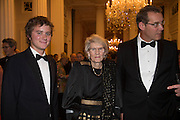 AYDEN PERCY; LADY BUTE; ANDREW PERCY, The National Trust for Scotland Mansion House Dinner. Mansion House, London. 16 October 2013