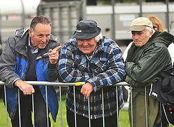 Keeping an eye on the Sheep Show at Murrisk Pattern Day were Michael Joyce, Eugene O'Malley from Recess and Michael Murphy.<br /> Pic Conor McKeown
