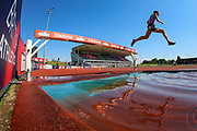 Ieuan THOMAS competes in the Men's 3000m Steeplechase and went on to come in third place during the Muller British Athletics Championships at Alexander Stadium, Birmingham, United Kingdom on 25 August 2019.