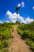 Woman on the Campuhan Ridge Walk, Ubud, Bali, Indonesia