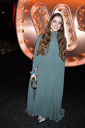 Singer BIRDY at the Warner Music Group & Ciroc Vodka Brit Awards After Party held at The Freemason's Hall, 60 Great Queen St, London on 24th February 2016.