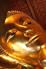 The Reclining Buddha, Bangkok, Thailand